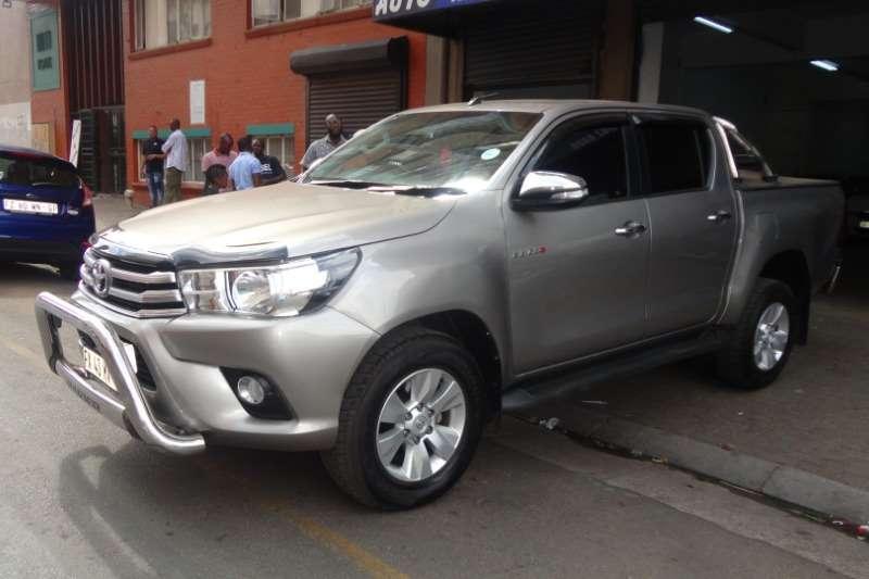Used 2017 Toyota Hilux Double Cab HILUX 2.8 GD 6 RB RAIDER P/U D/C A/T