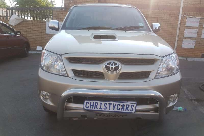 2007 Toyota Hilux double cab