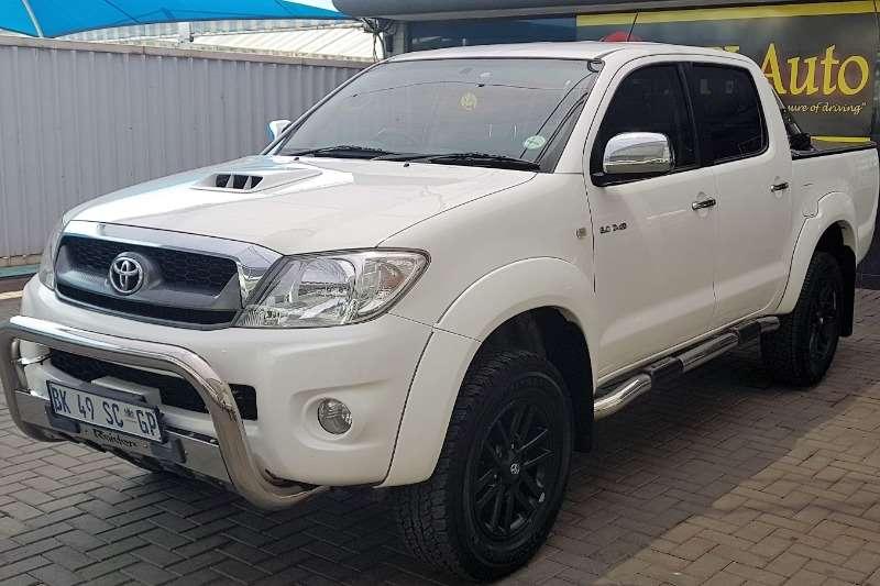 Toyota Hilux double cab HILUX 3.0 D-4D RAIDER 4X4 A/T P/U D/C 2011