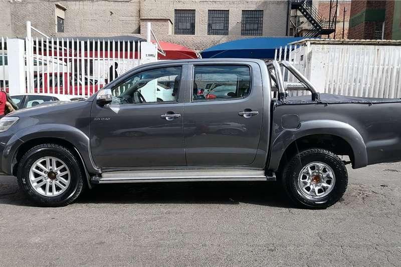 Used 2012 Toyota Hilux Double Cab HILUX 3.0 D 4D RAIDER 4X4 A/T P/U D/C