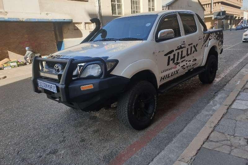 toyota hilux double cab hilux 4.0 v6 raider 4x4 p u d c a t 2011