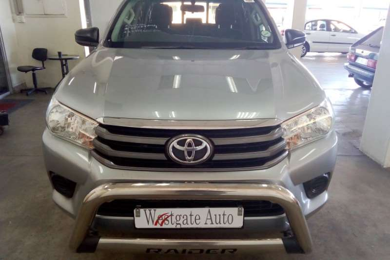 2016 Toyota Hilux double cab HILUX 2.7 VVTi RB SRX P/U D/C