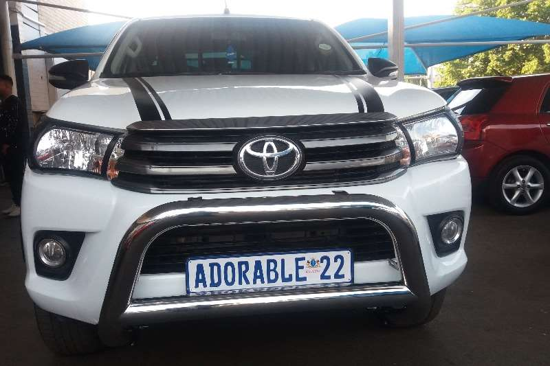 2017 Toyota Hilux double cab HILUX 2.4 GD 6 SRX 4X4 P/U D/C