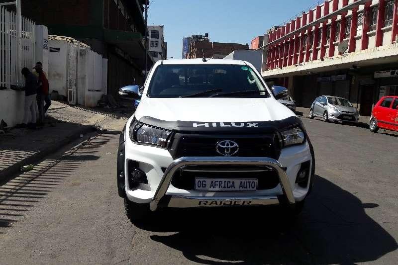 2016 Toyota Hilux double cab HILUX 2.4 GD 6 RB S P/U D/C