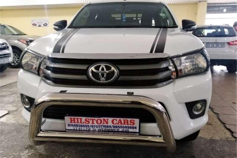 2017 Toyota Hilux double cab HILUX 2.4 GD 6 SRX P/U D/C 4X4