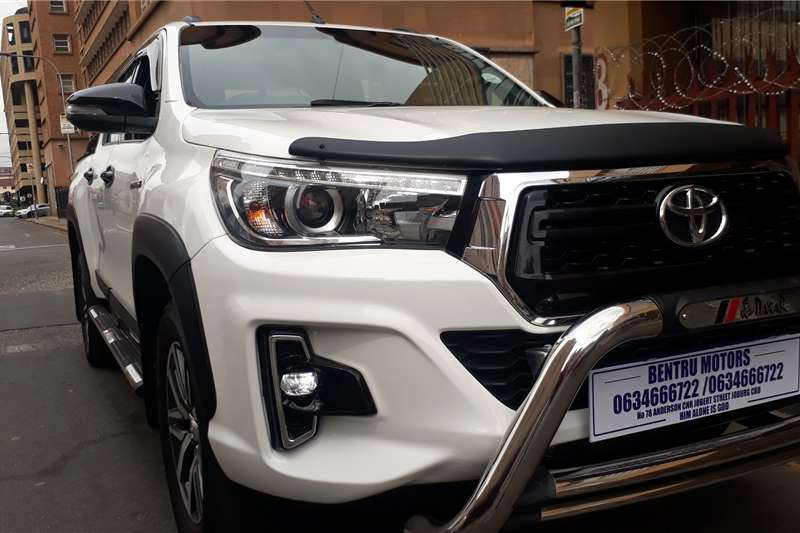 2019 Toyota Hilux double cab HILUX 2.8 GD 6 RAIDER 4X4 P/U D/C A/T