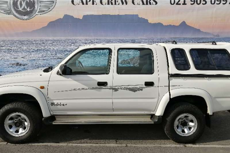 Toyota Hilux Double Cab Raider 3.0 KZ TE R/Body 2001