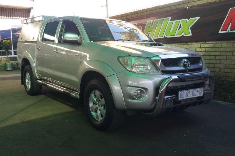 2010 Toyota Hilux 3.0D 4D double cab 4x4 Raider Legend 40 auto