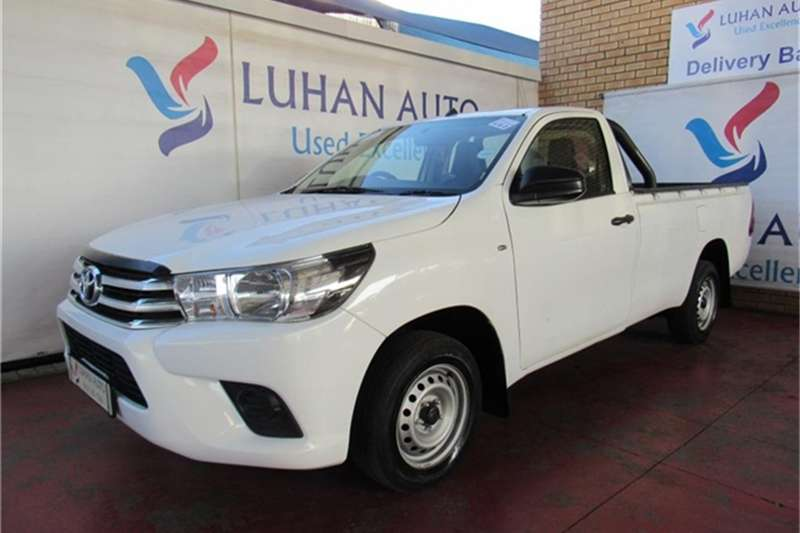 2017 Toyota Hilux 2.0 (aircon)