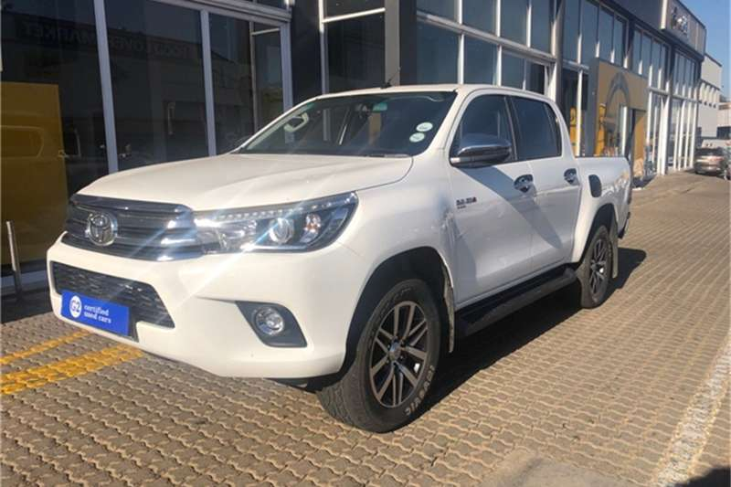 2018 Toyota Hilux 2.8GD 6 double cab 4x4 Raider