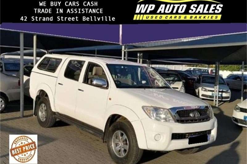 2011 Toyota Hilux 2.7 double cab Raider