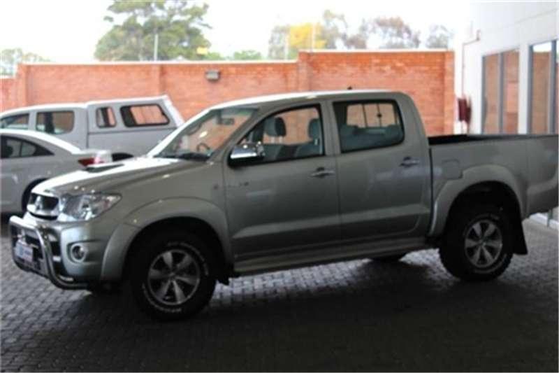 2009 Toyota Hilux 3.0D 4D double cab Raider automatic