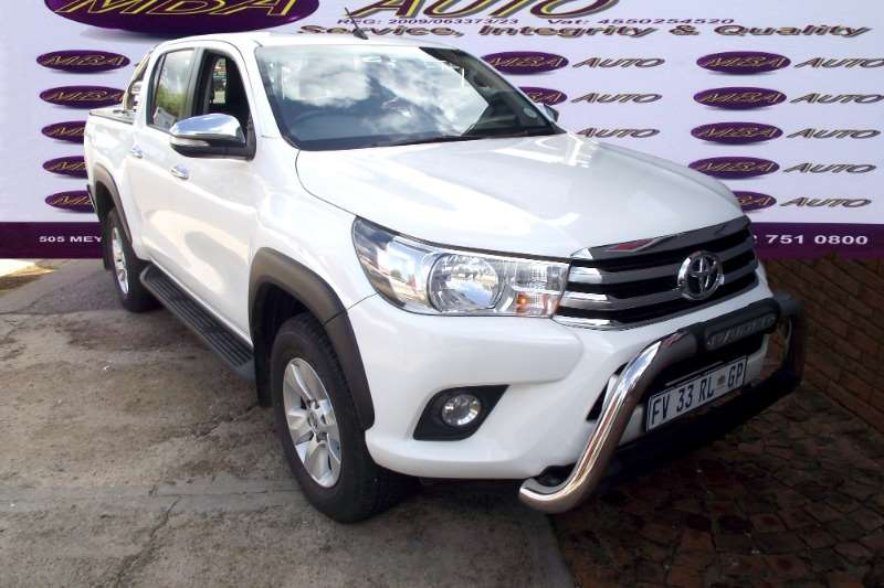 2017 Toyota Hilux 4.0 V6 double cab 4x4 Raider