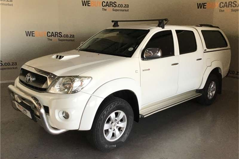 2011 Toyota Hilux 3.0D 4D double cab 4x4 Raider automatic