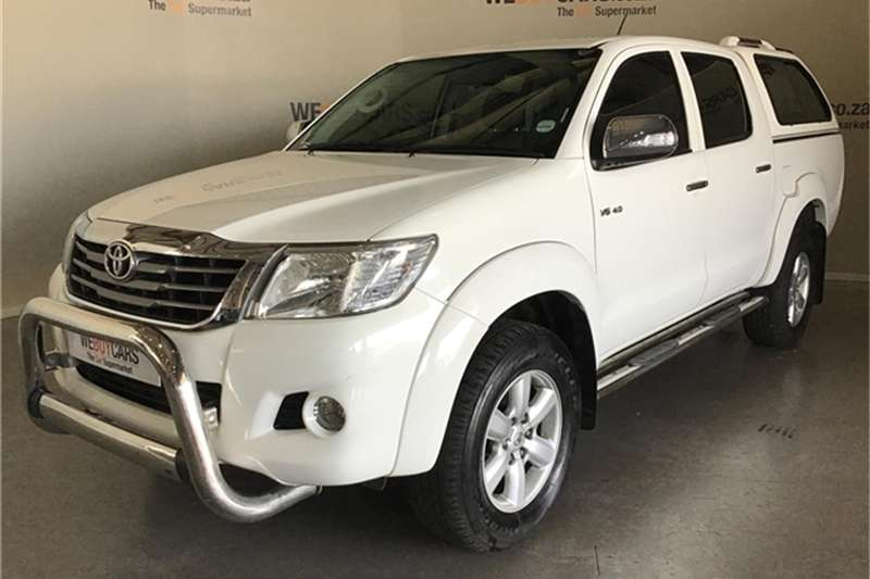 2012 Toyota Hilux 4.0 V6 double cab Raider