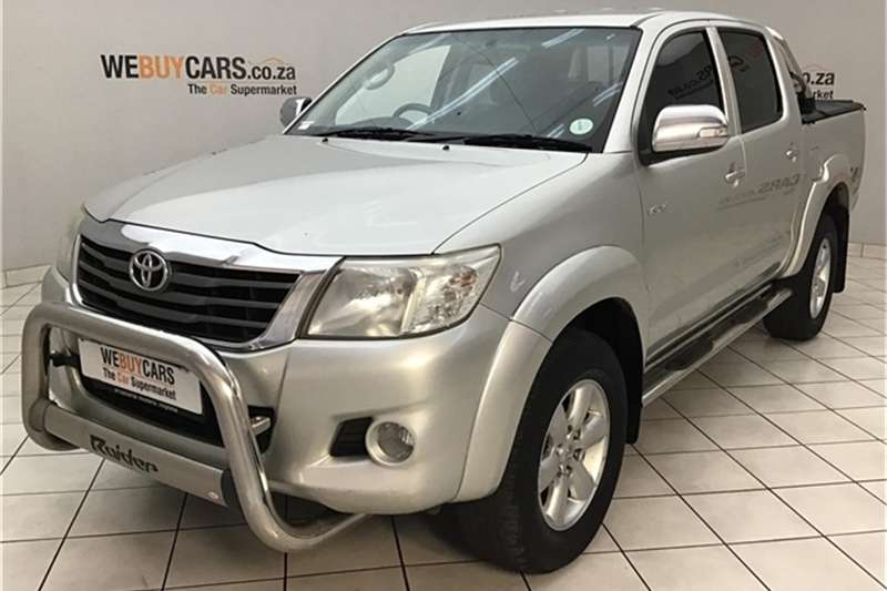 2012 Toyota Hilux 4.0 V6 double cab 4x4 Raider