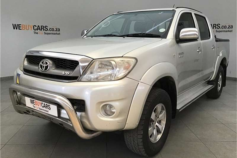 2009 Toyota Hilux V6 4.0 double cab 4x4 Raider