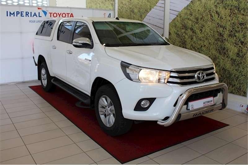 2016 Toyota Hilux 2.8GD 6 double cab Raider