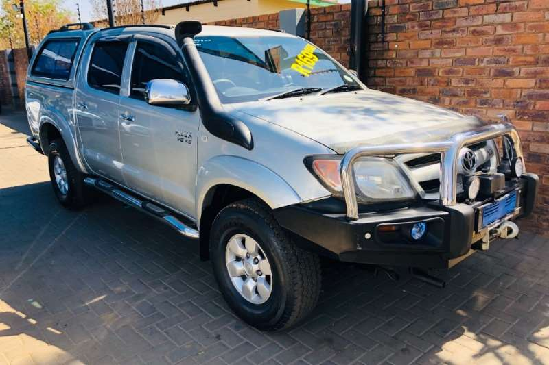 2007 Toyota Hilux V6 4.0 double cab 4x4 Raider automatic