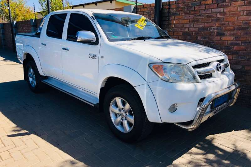 2008 Toyota Hilux 2.7 double cab Raider