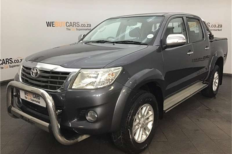 2012 Toyota Hilux 2.7 double cab Raider