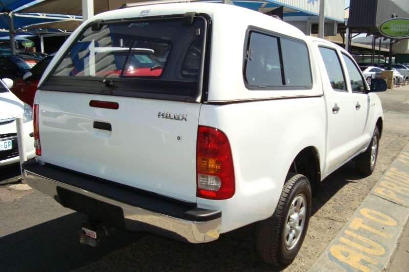 2010 Toyota Hilux 2.5D 4D double cab 4x4 SRX