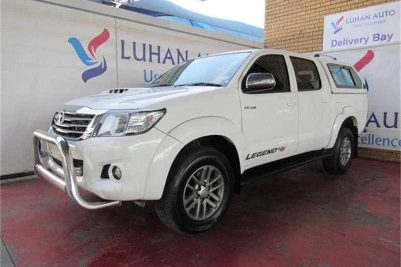 2015 Toyota Hilux 3.0D 4D double cab 4x4 Raider auto