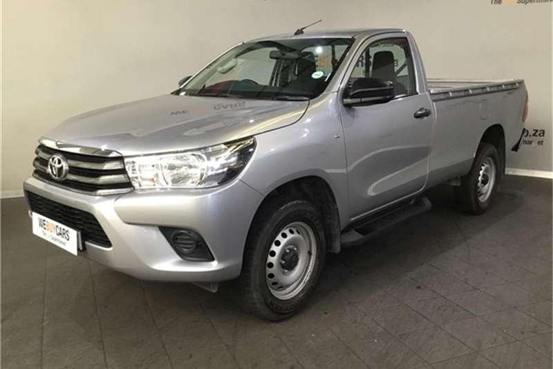 2017 Toyota Hilux 2.7 SRX