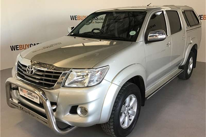 2013 Toyota Hilux 2.7 double cab Raider