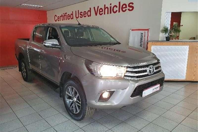 2016 Toyota Hilux 2.8GD 6 double cab Raider auto