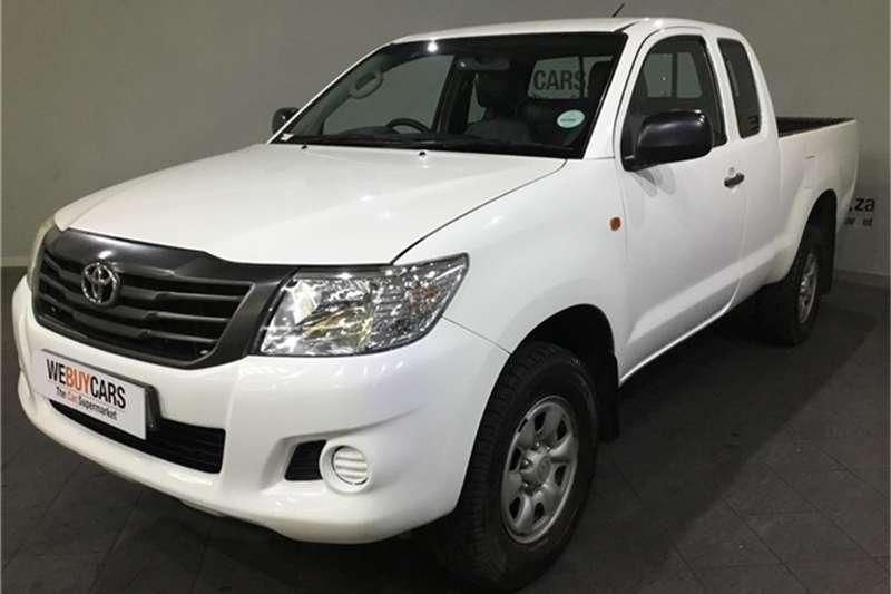 2015 Toyota Hilux 2.5D 4D Xtra cab SRX
