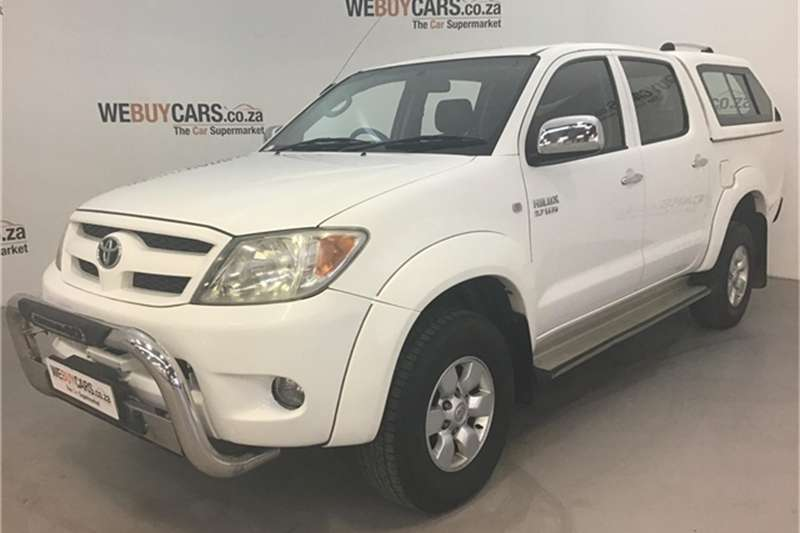 2007 Toyota Hilux 2.7 double cab Raider