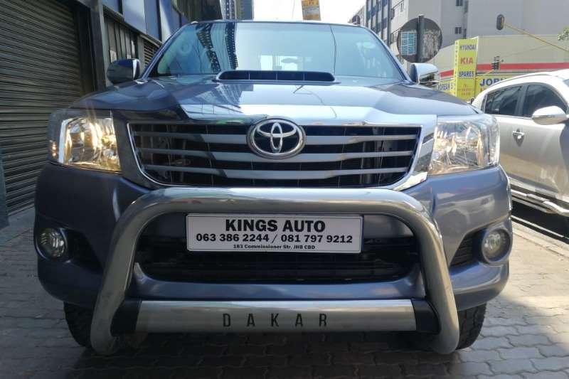 2014 Toyota Hilux 3.0D 4D Xtra cab 4x4 Raider Dakar edition