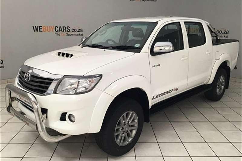 2015 Toyota Hilux 3.0D 4D double cab Raider Legend 45 auto