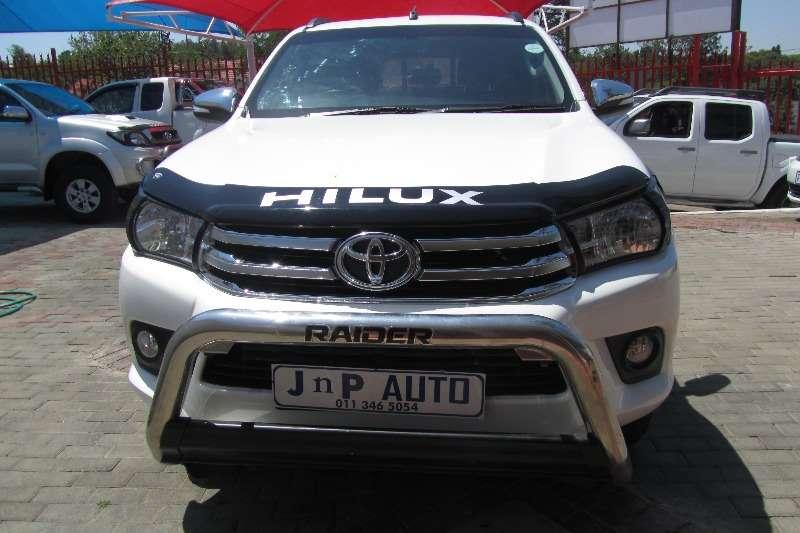 2016 Toyota Hilux 2.4GD 6 4x4 SRX