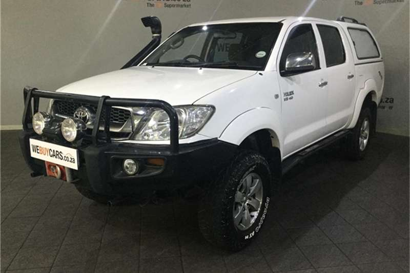 2008 Toyota Hilux V6 4.0 double cab 4x4 Raider automatic