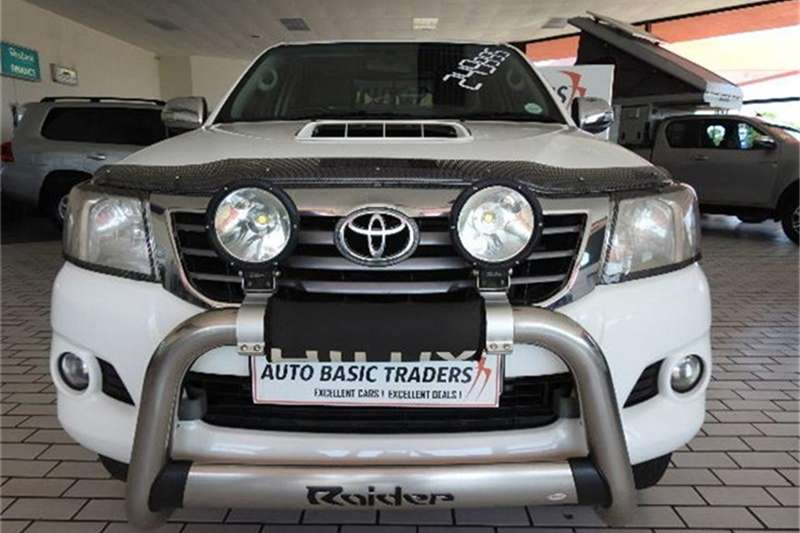 2014 Toyota Hilux 3.0D 4D Raider