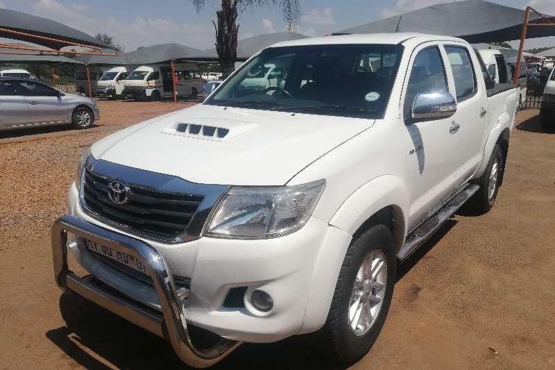 2012 Toyota Hilux 3.0D 4D double cab Raider automatic
