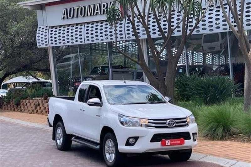 2017 Toyota Hilux 2.8GD 6 Xtra cab 4x4 Raider