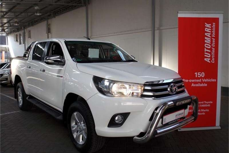 2016 Toyota Hilux 2.8GD 6 double cab 4x4 Raider
