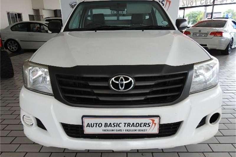 2013 Toyota Hilux 2.0 S