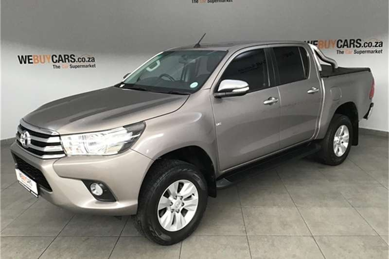 2016 Toyota Hilux 4.0 V6 double cab Raider