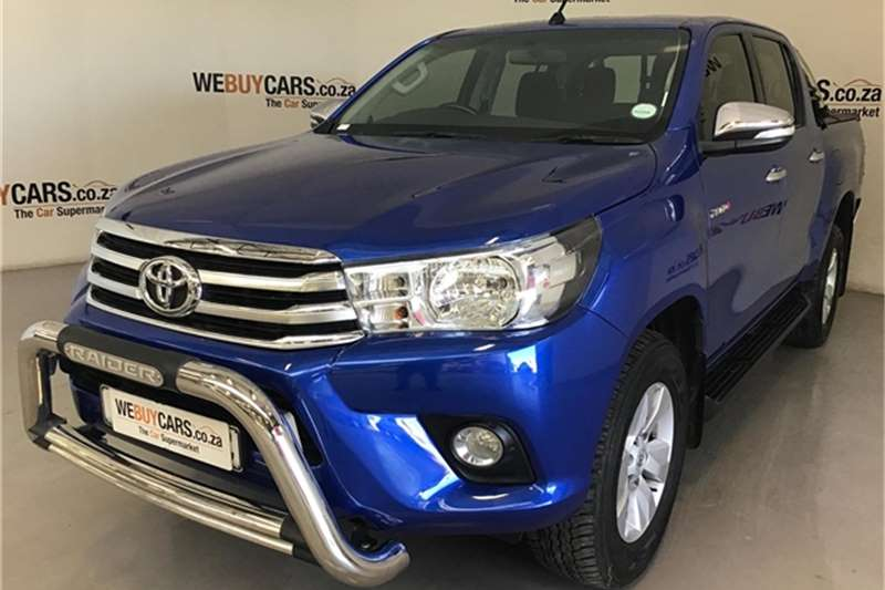 2016 Toyota Hilux 2.8GD 6 double cab Raider