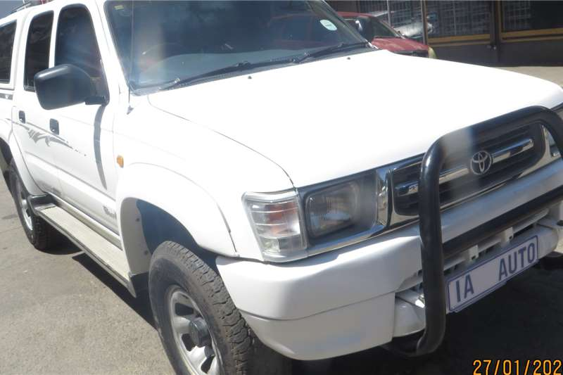 2001 Toyota Hilux 2.7 double cab SRX