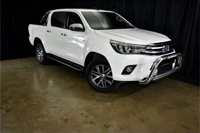 2018 Toyota Hilux 2.8GD 6 double cab 4x4 Raider