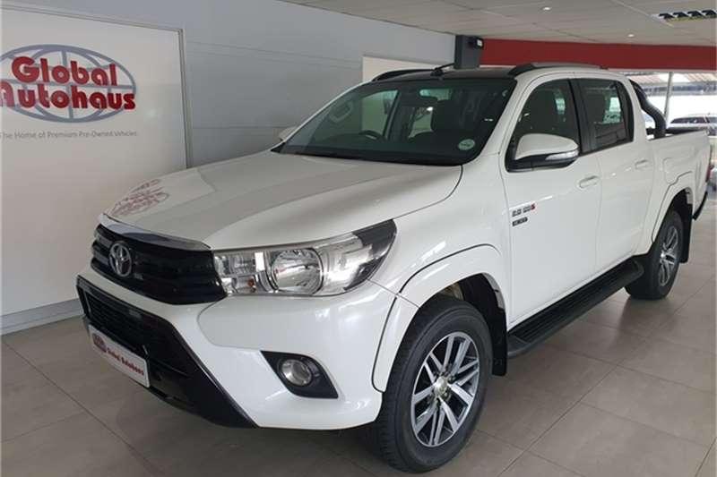 2017 Toyota Hilux 2.8GD 6 double cab 4x4 Raider auto