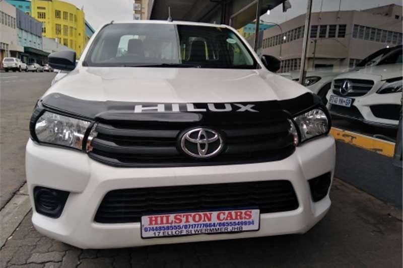 2017 Toyota Hilux 2.4GD 6 Xtra cab SRX
