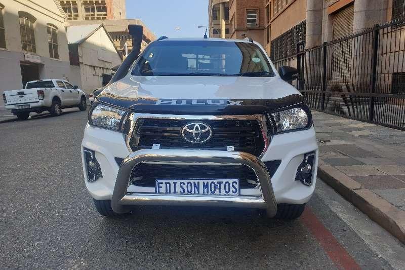 2018 Toyota Hilux 2.4GD 6 double cab 4x4 SRX