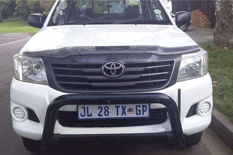 2012 Toyota Hilux 2.5D 4D S