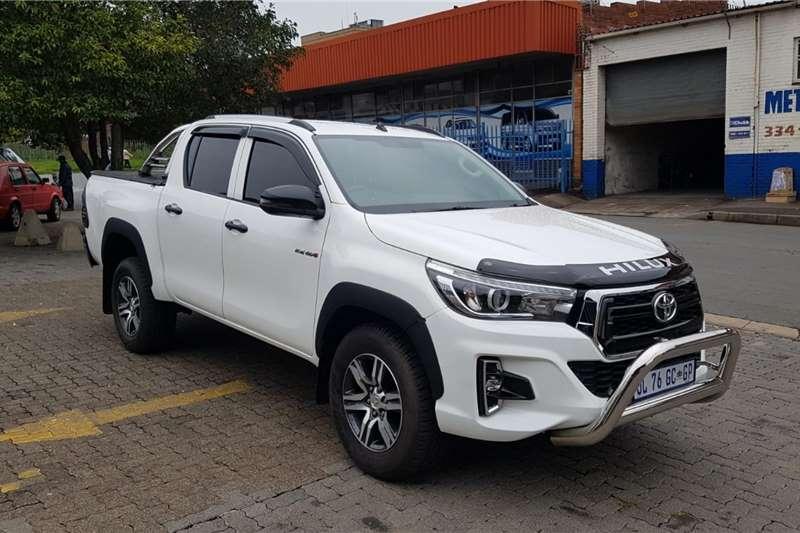 2017 Toyota Hilux 2.4GD 6 double cab 4x4 SR